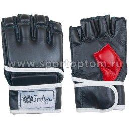 Перчатки ММА и смешанных единоборств INDIGO PU  PS-1183 M Черный