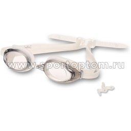 Очки для плавания INDIGO SARGO сменная переносица  GT3-2 Белый