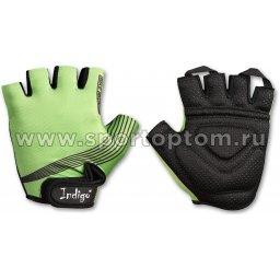 Перчатки вело мужские INDIGO   SB-01-8203 Зеленый