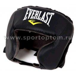 Шлем боксерский  EVERLAST Durahide PU  4022U Черный