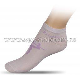 Носки для художественной гимнастики с рисунком INDIGO А14-01 Белый