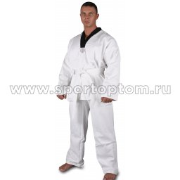Кимоно таэквондо хлопок 100%, 270-300 г/м2 RA-004 Белый