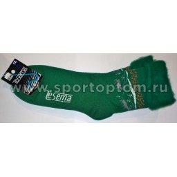 Термоноски TESEMA с флисовой подкладкой 2396 34-36 Зеленый