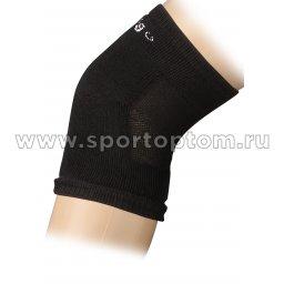 Наколенник для гимнастики и танцев INDIGO махровый ЛВ12 L Черный