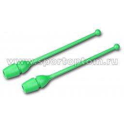 Булавы для художественной гимнастики вставляющиеся AMAYA (термопластик) 320202 41 см Зеленый
