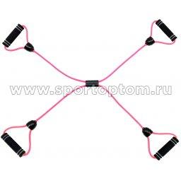 Эспандер Грация-2  INDIGO 4 жгута SM-054/2