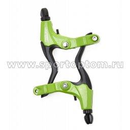 Вело Ручки тормозные алюминиевые рычаги VS 51 Зеленый