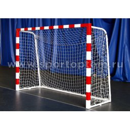 Сетка футбольная (мини футбол, гандбол) 2,5мм  3*2*1м Белый