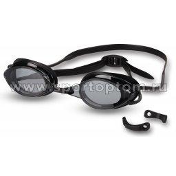 Очки для плавания INDIGO AKARA сменная переносица 8160-5 Черный
