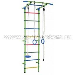 ДСК Start - 1 Плюс пристенный S1П5.15-П  2170*630*525 мм Салатовый-радуга