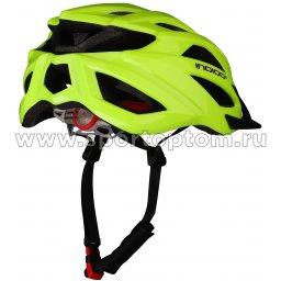 Вело Шлем взрослый INDIGO, 21 вент. отверстий IN069 Салатовый (2)