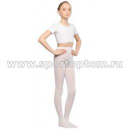 Колготки детские для танцев и балета HAIDI 90 den КХ Белый