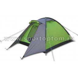 Палатка INDIGO Volga-2 210+60*150*110 см Серо-зеленый