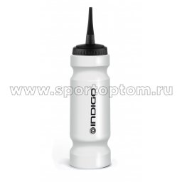 Бутылка для воды (хоккей) INDIGO ICE IN147 980 мл Белый