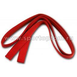 Пояс для кимоно RA-010            2.8 м Красный