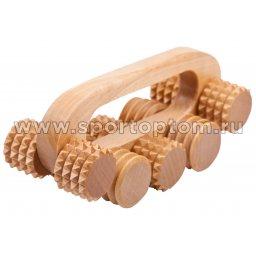 Массажер деревянный универсальный Качалка МА8401