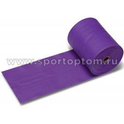 Эспандер ленточный  INDIGO MEDIUM (ТПЭ) 6003-2 HKRB 25м*15см*0,45мм Фиолетовый