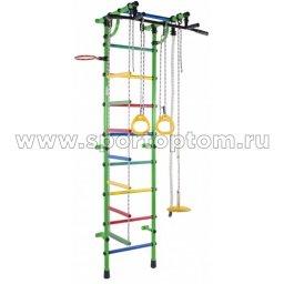 ДСК Гамма - 1К Плюс пристенный Г1КП5.15-П  2300*950*525 мм Салатовый-радуга