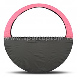 Чехол для обруча (Сумка) INDIGO SM-083 60-90 см Розово-серый