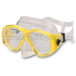 Маска для плавания  INDIGO MARLIN  детская IN058 Желтый