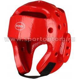 Шлем таэквондо литой  F081A Красный