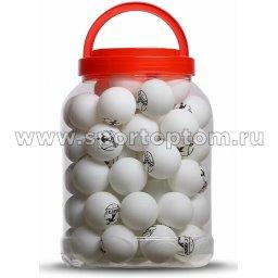 Шарики для настольного тенниса DOBEST 1 звезда 60шт в банке  06-BA        40 мм Белый
