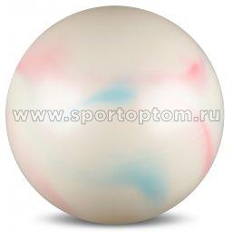 Мяч для художественной гимнастики силикон 300 г AB2803C 15 см Радуга 1