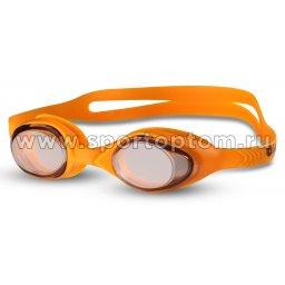 Очки для плавания детские INDIGO  G6106 Оранжевый