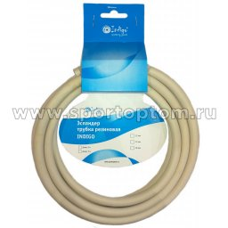 Эспандер трубка резиновая INDIGO SM-075 3м*15мм Серый