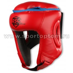 Шлем боксерский RSC  PU BF BX 208 Красный