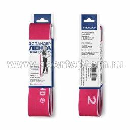 Эспандер Лента эластичная замкнутая INDIGO 97669F Розовый MEDIUM (3)