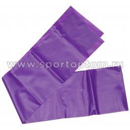 Эспандер ленточный INDIGO MEDIUM (ТПЭ) 97627 IR 1,5м*15см*0,45мм Фиолетовый