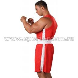 Форма боксёрская RSC со вставками BF BX 09 Красный (3)