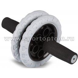 Ролик Гимнастический SM-383 Черно-серый (1)