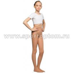 Колготки детские для танцев и балета HAIDI 90 den КХ Телесный