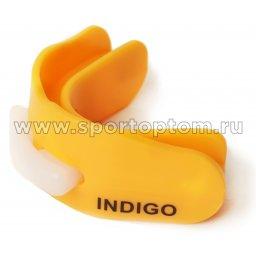 Капа 2 челюстная INDIGO термо в контейнере MD-01-TP Оранжевый