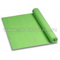 Коврик для йоги и фитнеса INDIGO PVC YG03 173*61*0,3 см Зеленый