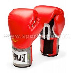 Перчатки боксёрские EVERLAST PU Pro Style Anti-MB Youth  2108YU 8 унций Красный