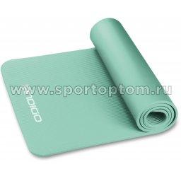 Коврик для йоги и фитнеса INDIGO NBR IN194 173*61*1,5 см Салатовый