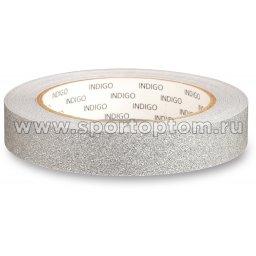 Обмотка для обруча с подкладкой INDIGO BLESK IN138 20мм*14м Серебро