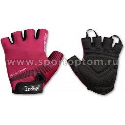 Перчатки вело женcкие  INDIGO  SB-01-8543 Фиолетовый