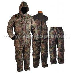 Костюм утепленный Рыбак-1 (куртка+полукомбинезон) SM-276 КМФ