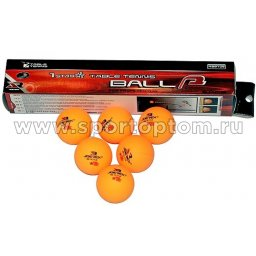 Шарики для настольного тенниса JOEREX 1 звезда 6шт 106 NSB 40 мм Белый