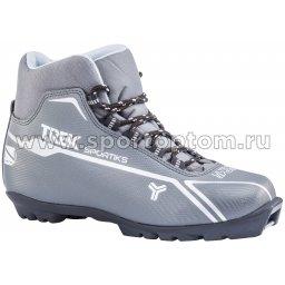 Ботинки лыжные SNS TREK Sportiks6 синтетика TR-279 Металлик (лого серебро)
