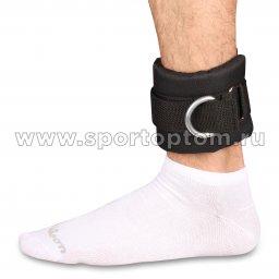 манжет на ногу ткань сетка черный  IN 379 (2)