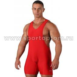 Трико борцовское  F100 Красный