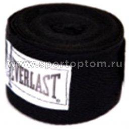 Бинт боксёрский EVERLAST  4455BPU 2,75 м Черный