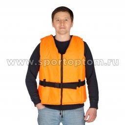 Жилет страховочный Молния до 150 кг SM-023         XL-XXL Оранжевый