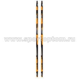 Лыжи полупластиковые INDIGO CLASSIC 180 см Оранжевый