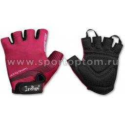 Перчатки вело женcкие  INDIGO  SB-01-8543 S Фиолетовый